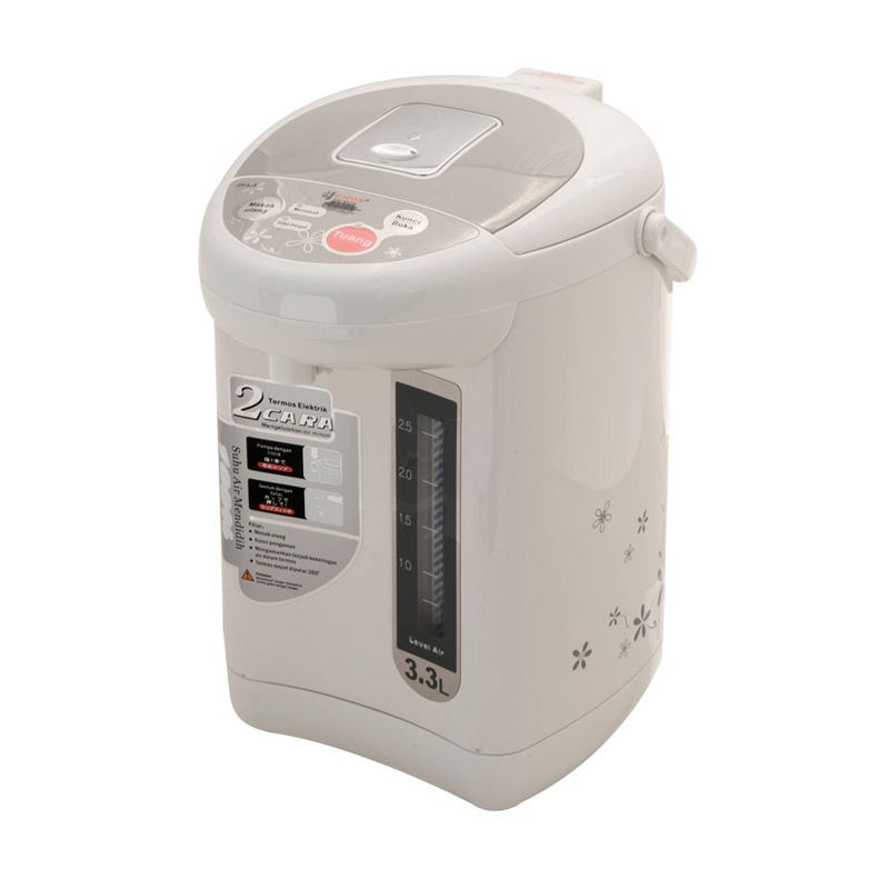 Cmos CT-33S Putih Thermos Pot [3.3 L]