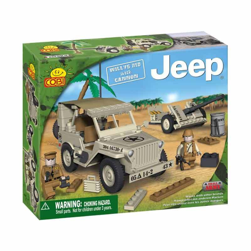 Cobi Willys M38 with Cannon