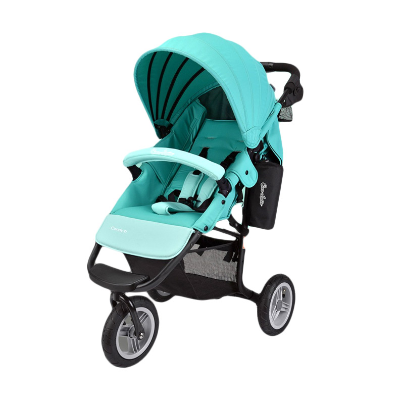 Cocolatte CL 975 AirBuggy Candy J  Stroller Bayi - Blue