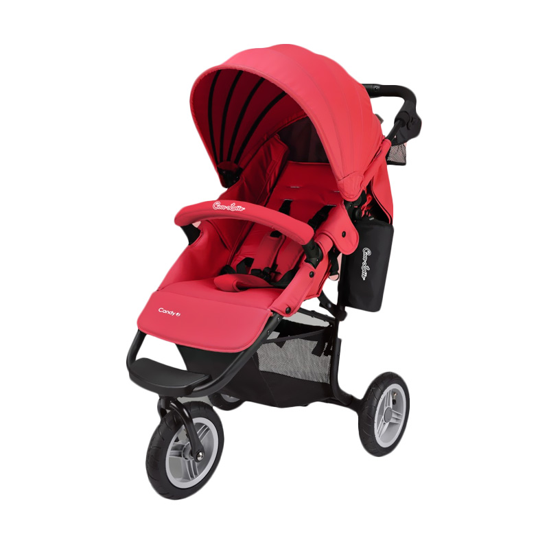 harga Cocolatte CL 975 AirBuggy Candy J Stroller Bayi - Red Blibli.com