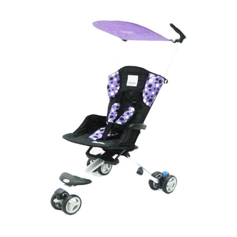 harga Cocolatte Isport CL08 polca Stroller - Purple Blibli.com