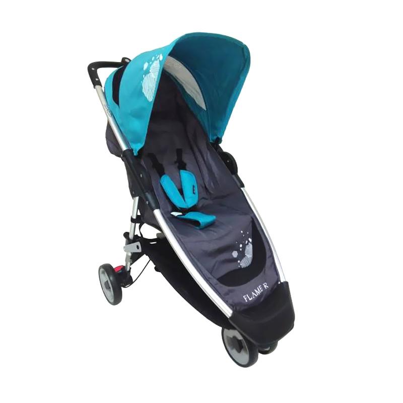 Cocolatte Stroller CL 536 FLAME R Kereta Dorong Bayi - Blue