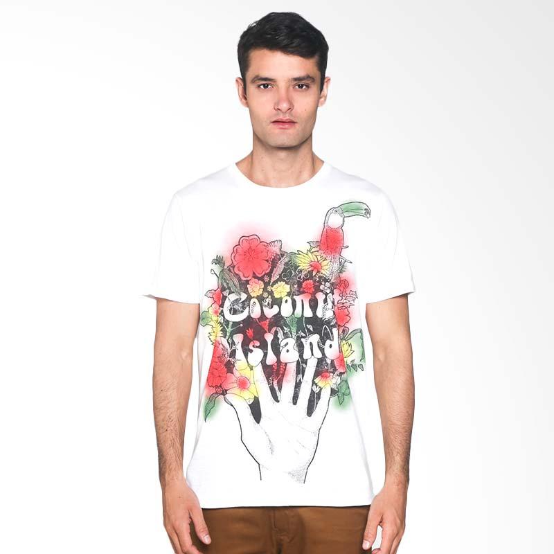 Coconut Island T-shirt Men Heritage Tee BMHT192W01 Kaos Pria - Bright White Extra diskon 7% setiap hari Extra diskon 5% setiap hari Citibank – lebih hemat 10%
