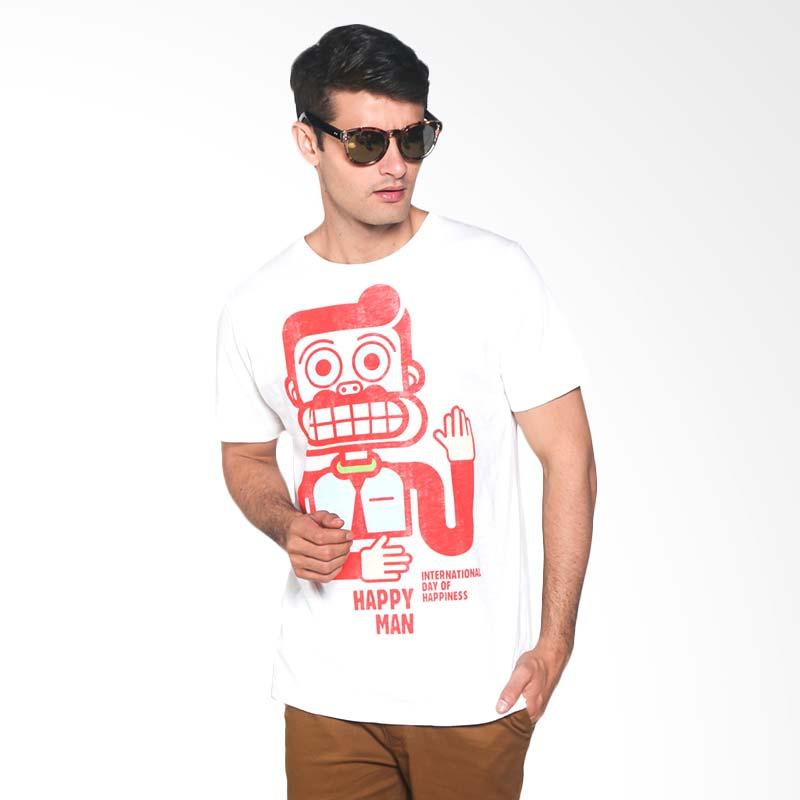 Coconut Island T-shirt Men Nostalgic Tee CMNT144W01 Kaos Pria - White Bright Extra diskon 7% setiap hari Extra diskon 5% setiap hari Citibank – lebih hemat 10%