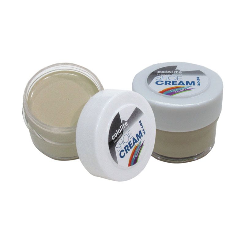 Cololite Shoe Cream Jar 35 Gr Sahara (2 pcs)
