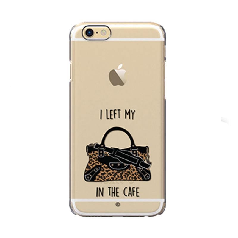 Colorant I left My Bag Cafe Leo case iPhone 6s