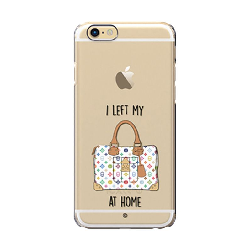 Colorant I left my bag Home white case for iPhone 6s