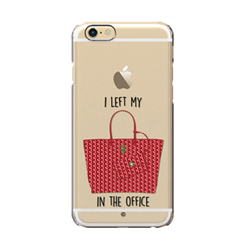 Colorant I Left My Bag Office Red Casing For iPhone 6s Plus
