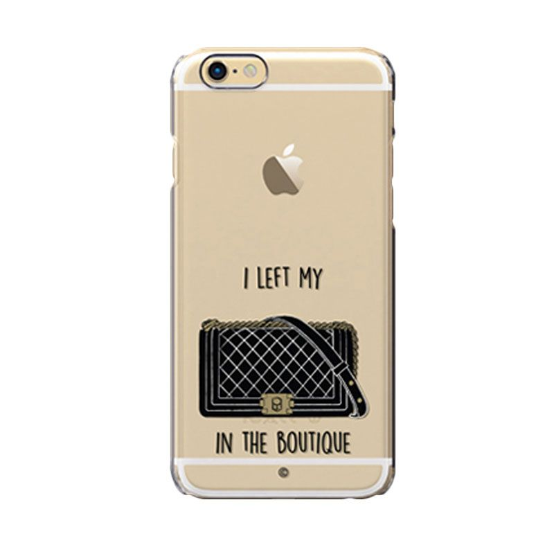 Colorant I Left My Bag Boutique Black Casing For iPhone 6s Plus