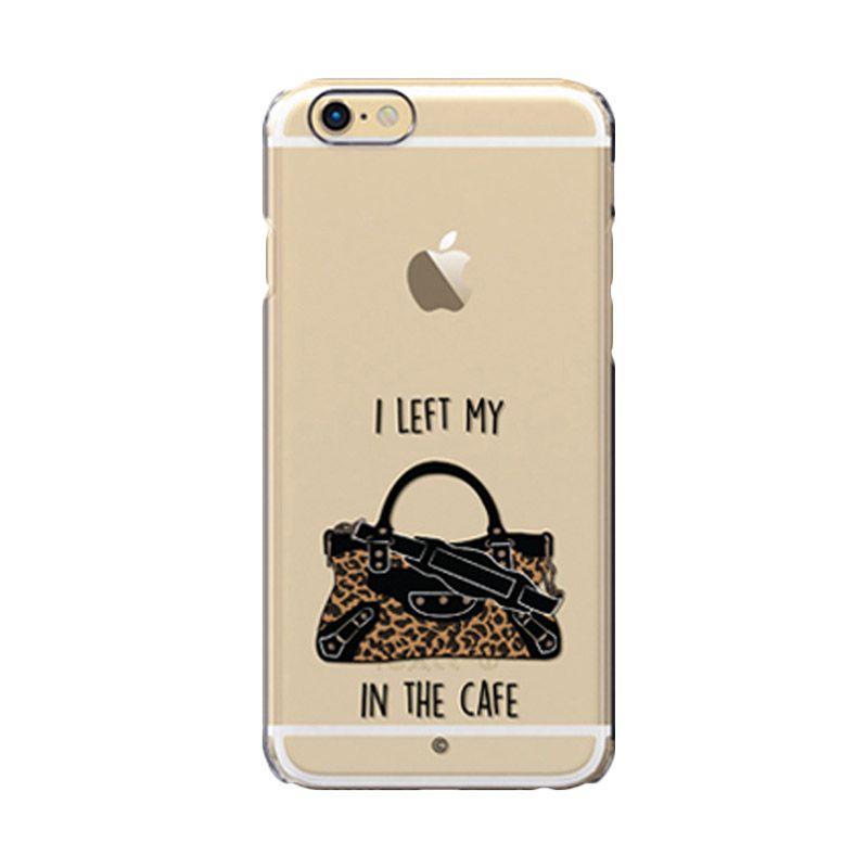 Colorant I Left My Bag Café Leo Casing For iPhone 6s Plus
