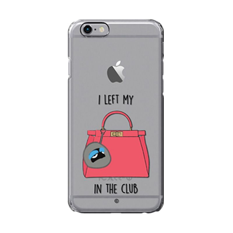Colorant I Left My Bag Club Blue Casing For iPhone 6s Plus