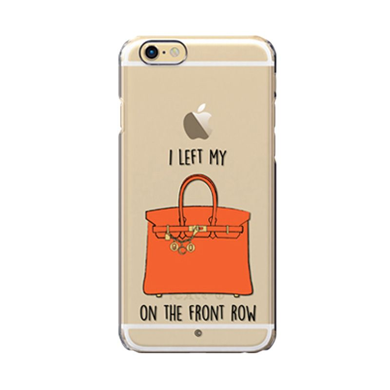 Colorant I Left My Bag Frow Orange Casing For iPhone 6s Plus