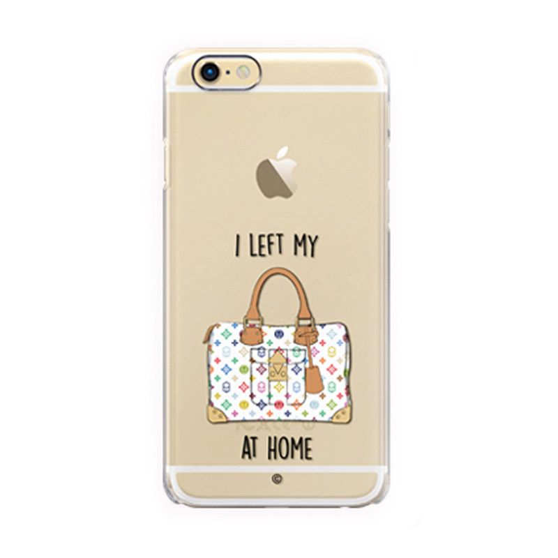 Colorant I Left My Bag Home White Casing For iPhone 6s Plus