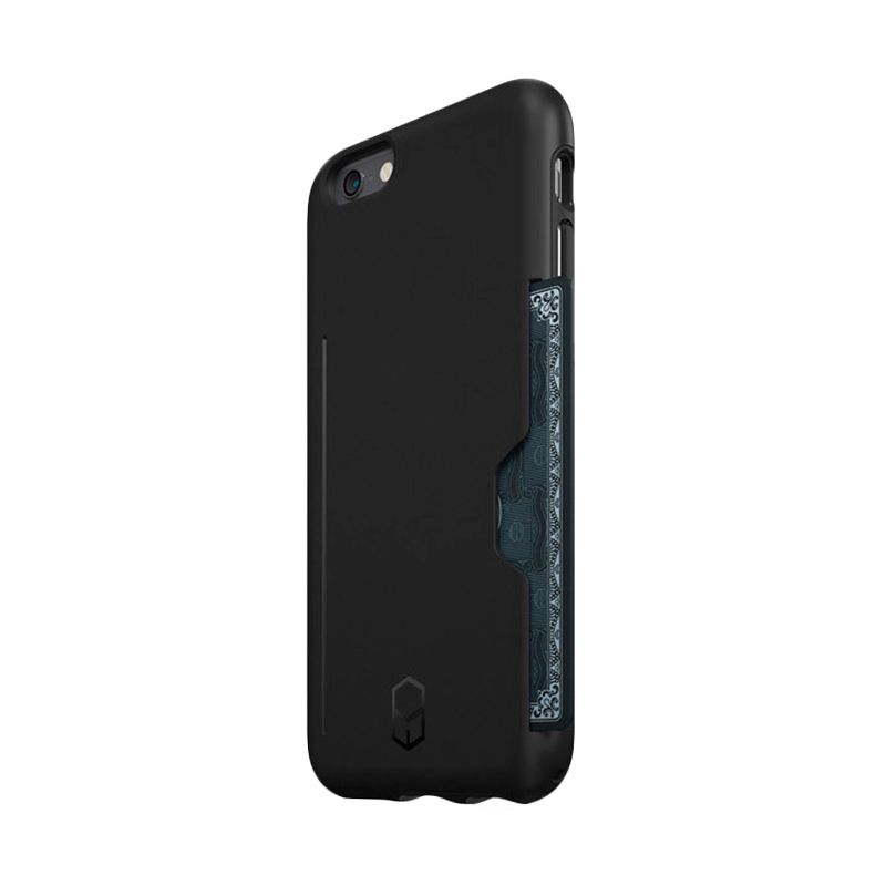 Colorant ITG Level Pro Black Casing for iPhone 6s Plus + Glass
