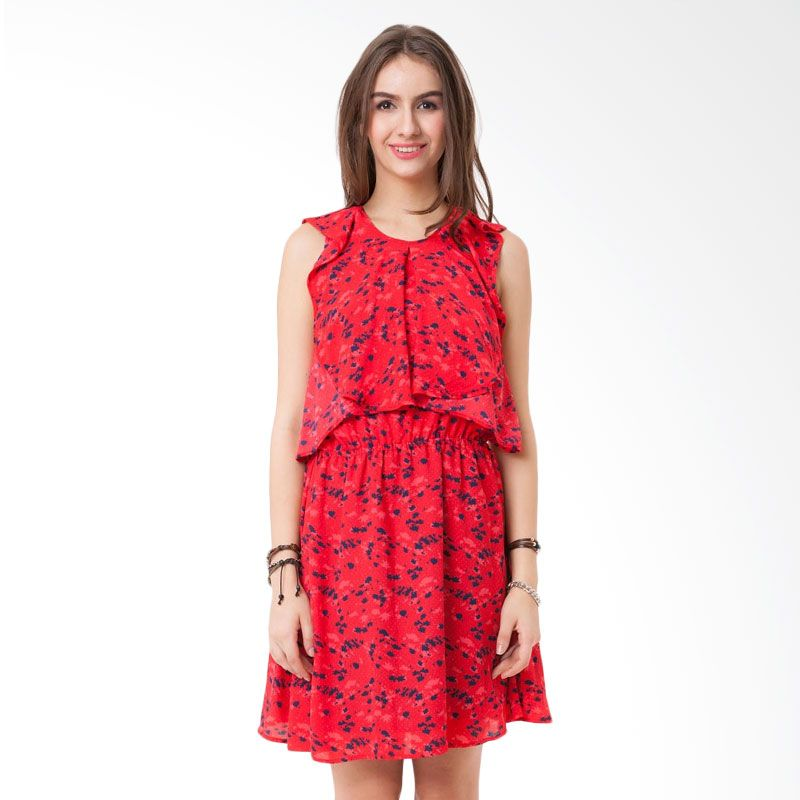 Colorbox DRF-104-C105-15 Red Dress