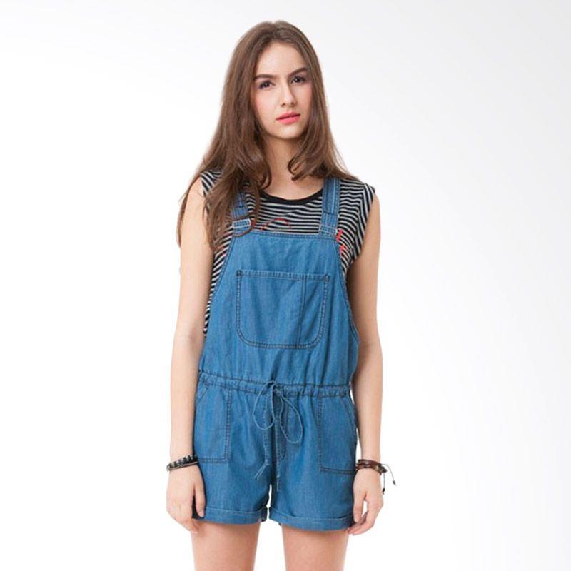 Colorbox DRF-316-C106-14 Light Blue Midi Dress