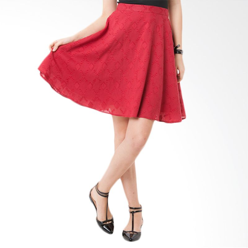 Colorbox SSF-105-C102-15 Red Rok Wanita