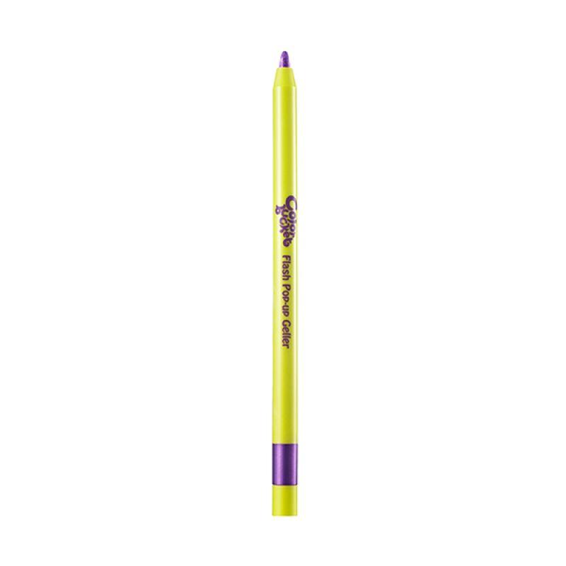 Color Bucket Pop-Up Geller in 10 Flash Purple Eyeliner