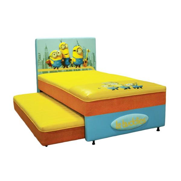 Comforta Minions New York City Set Springbed [100 x 200 cm/ Jabodetabek]