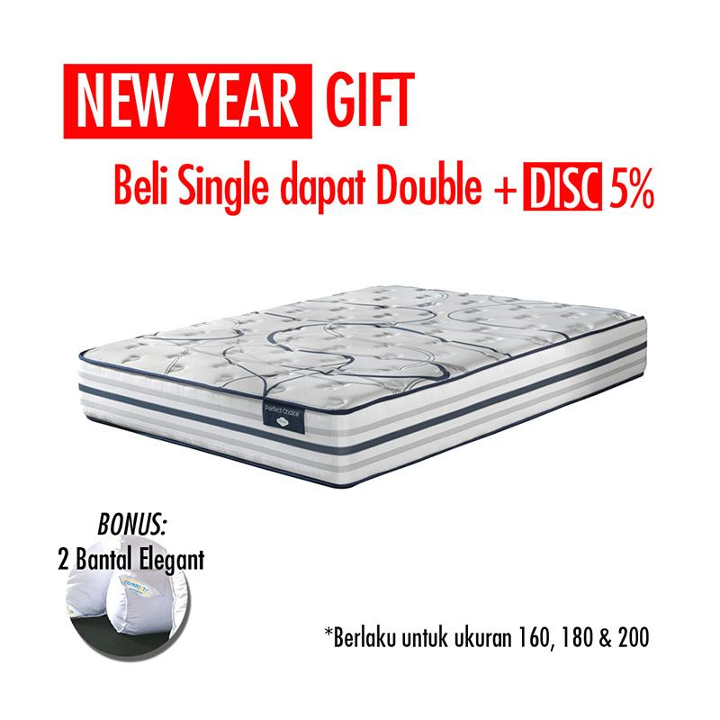 Promo Get Bigger Offer Up Grade Size - Comforta Perfect Choice Kasur + Bantal