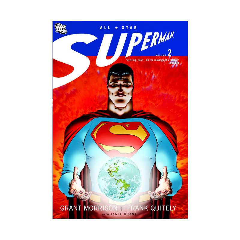 DC Comics All Star Superman Vol 02 TP Buku Komik