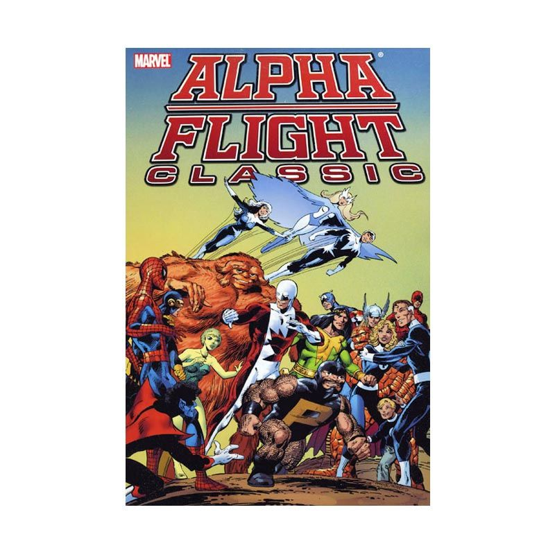 Marvel Comics Alpha Flight Classic Vol 01 TP Buku Komik
