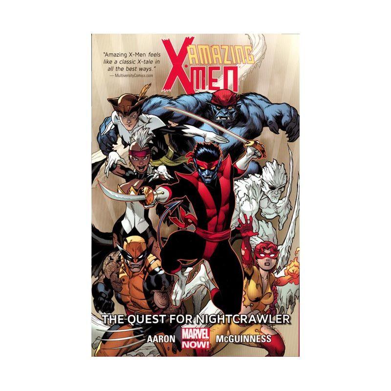 Marvel Comics Amazing X-Men Quest For Nightcrawler Vol 01 TP Buku Komik