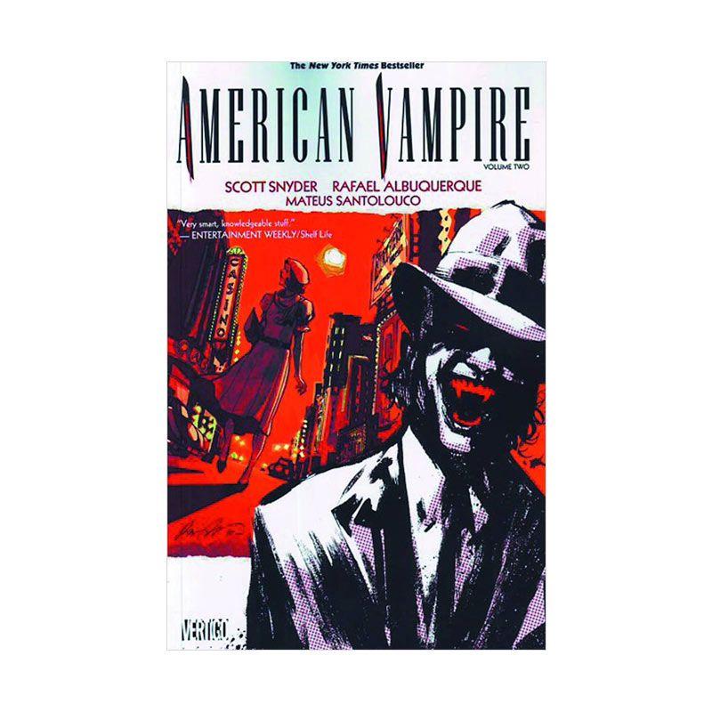 DC Comics American Vampire Vol 02 TP Buku Komik