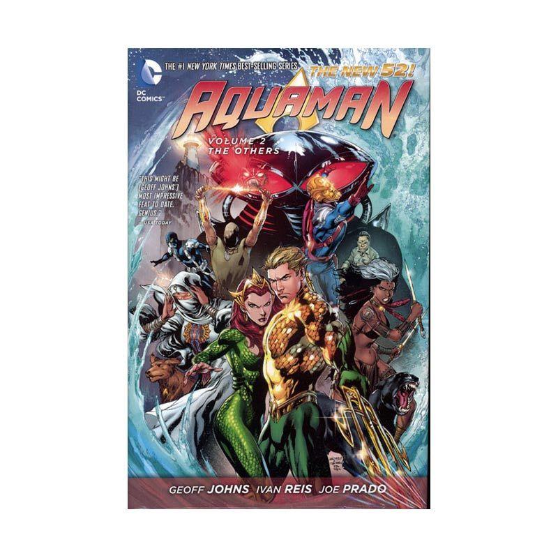 DC Comics Aquaman The Others Vol 02 HC Buku Komik