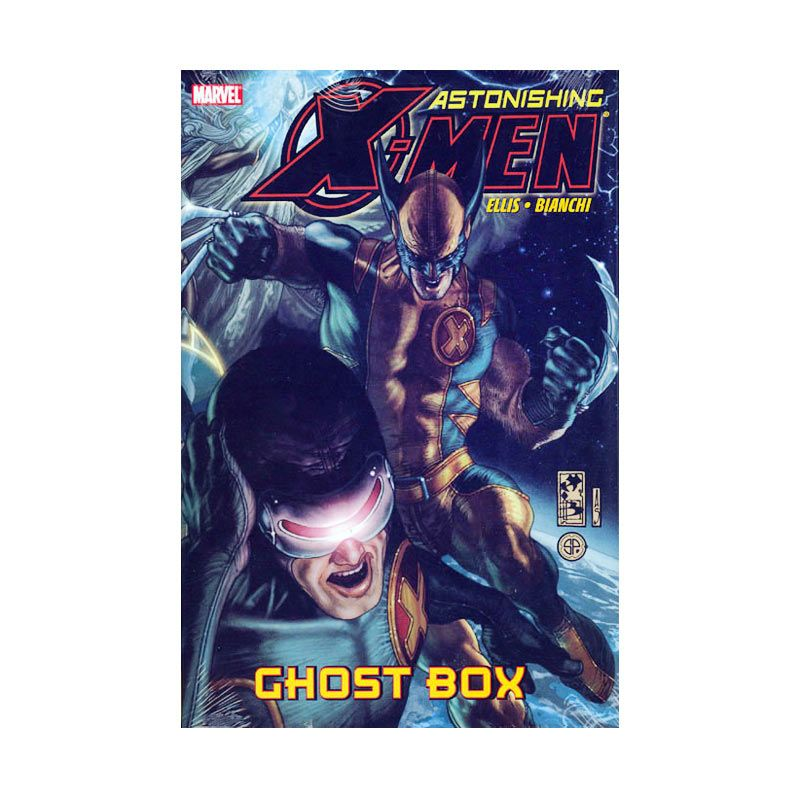 Marvel Comics Astonishing X-Men Prem Ghost Box HC Buku Komik