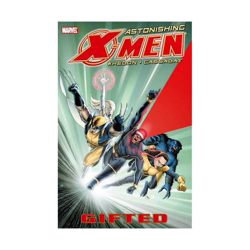 Marvel Comics Astonishing X-Men Vol 01 Gifted TP Buku Komik