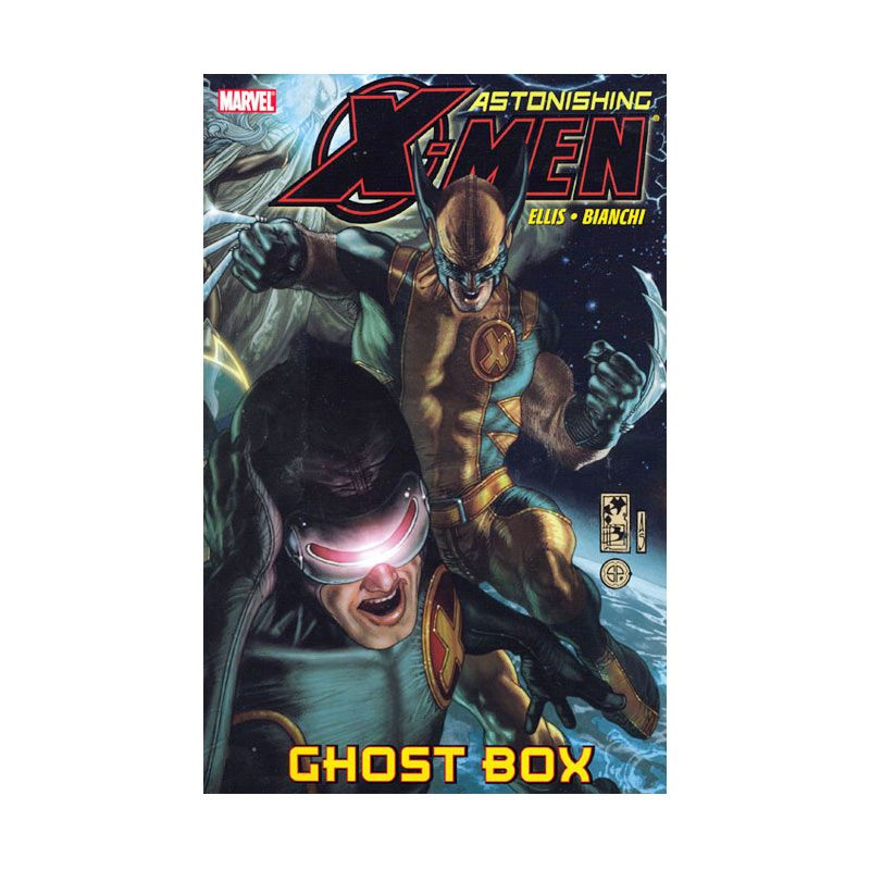 Marvel Comics Astonishing X-Men Ghost Box Vol 05 TP Buku Komik