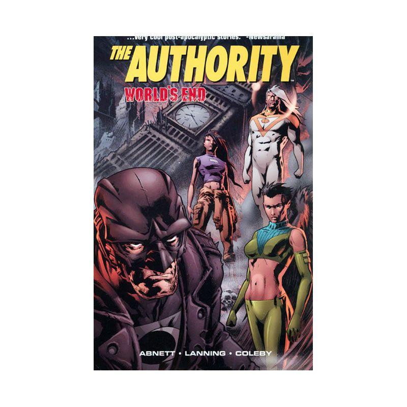 DC Comics Authority Worlds End Vol 01 TP Buku Komik