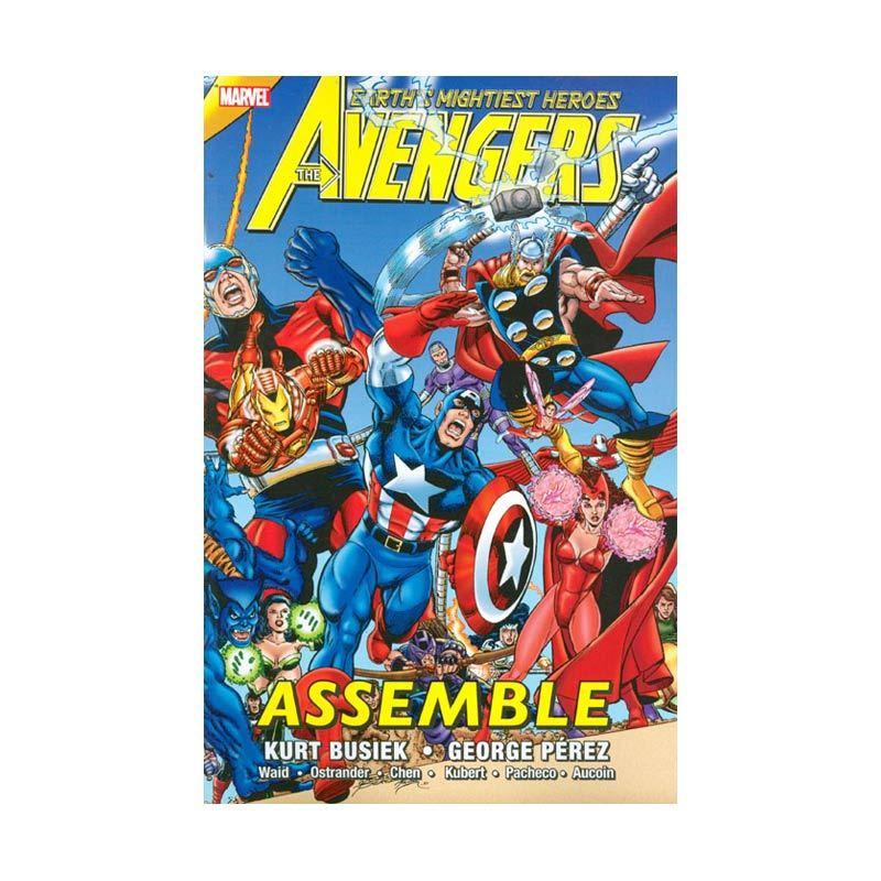 Marvel Comics Avengers Assemble Vol 01 TP Buku Komik