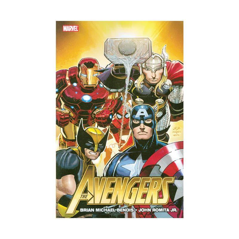 Marvel Comics Avengers By Brian Michael Bendis Vol 01 TP Buku Komik