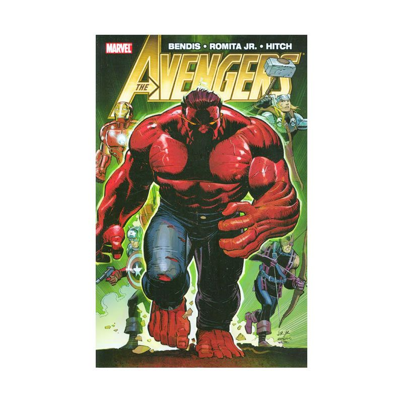 Marvel Comics Avengers By Brian Michael Bendis Vol 02 TP Buku Komik