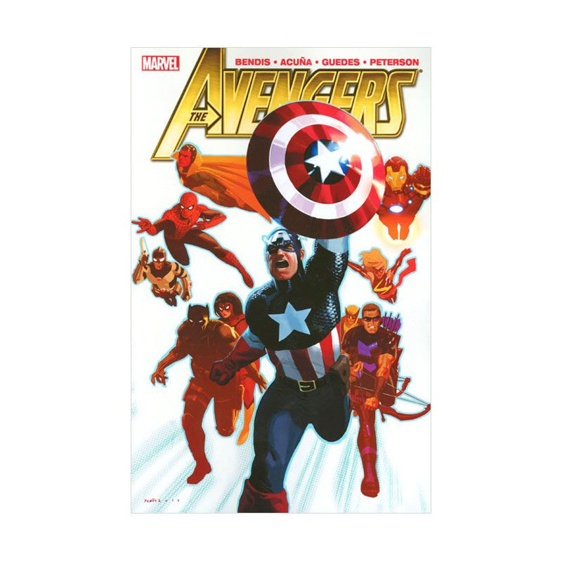 Marvel Comics Avengers By Brian Michael Bendis Vol 03 TP Buku Komik