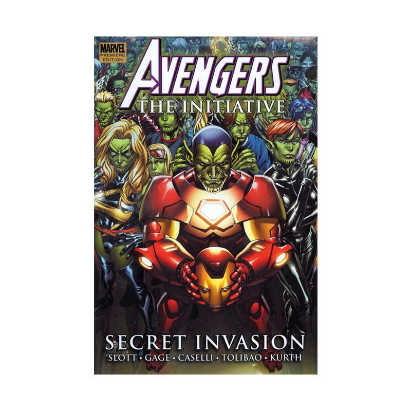 Marvel Comics Avengers The Initiative - Secret Invasion Vol 03 HC Buku Komik
