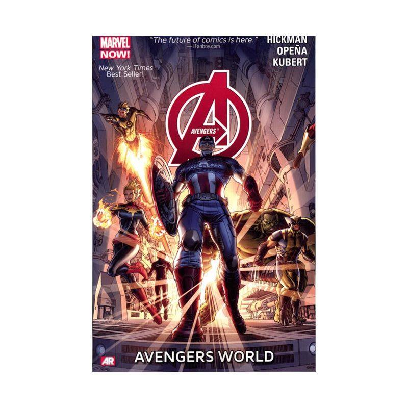 Marvel Comics Avengers World Vol 01 TP Buku Komik