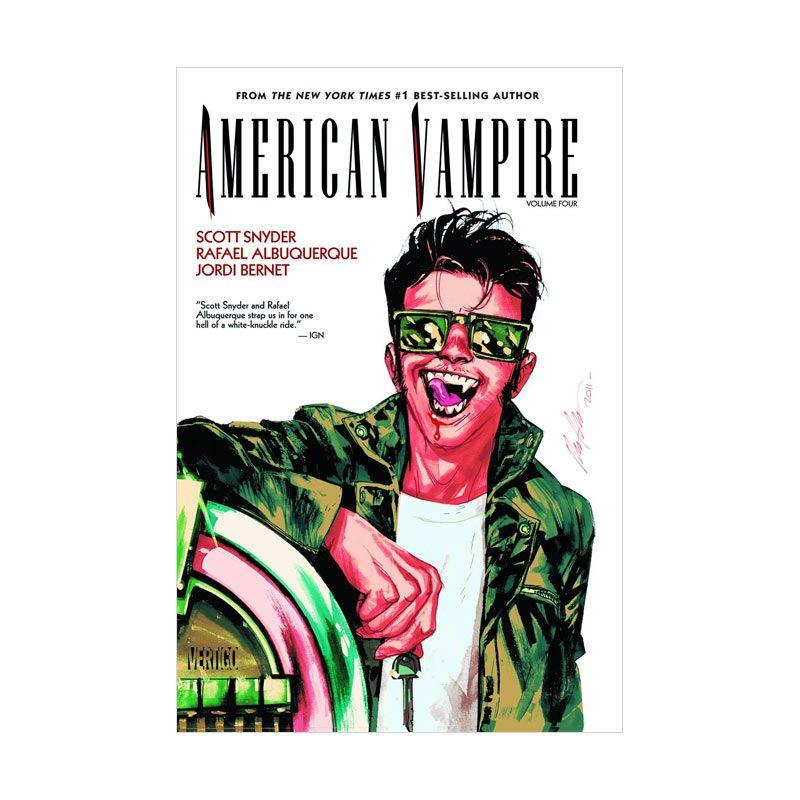DC Comics American Vampire Vol 04 TP Buku Komik