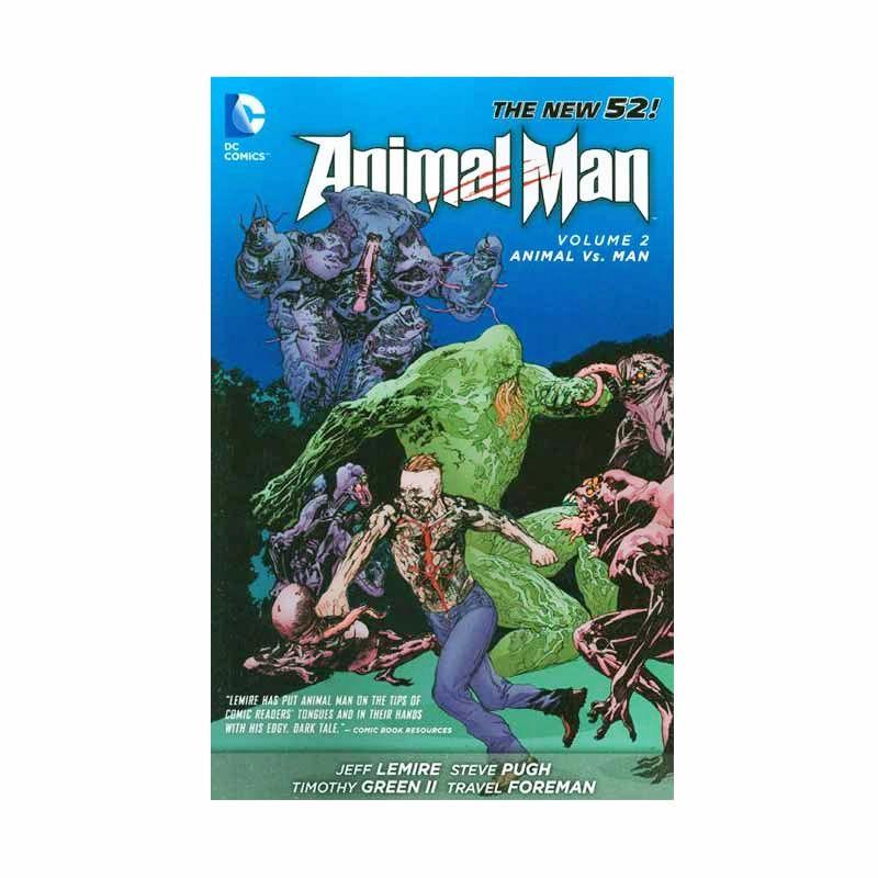 DC Comics Animal Man Vol 02 TP Buku Komik