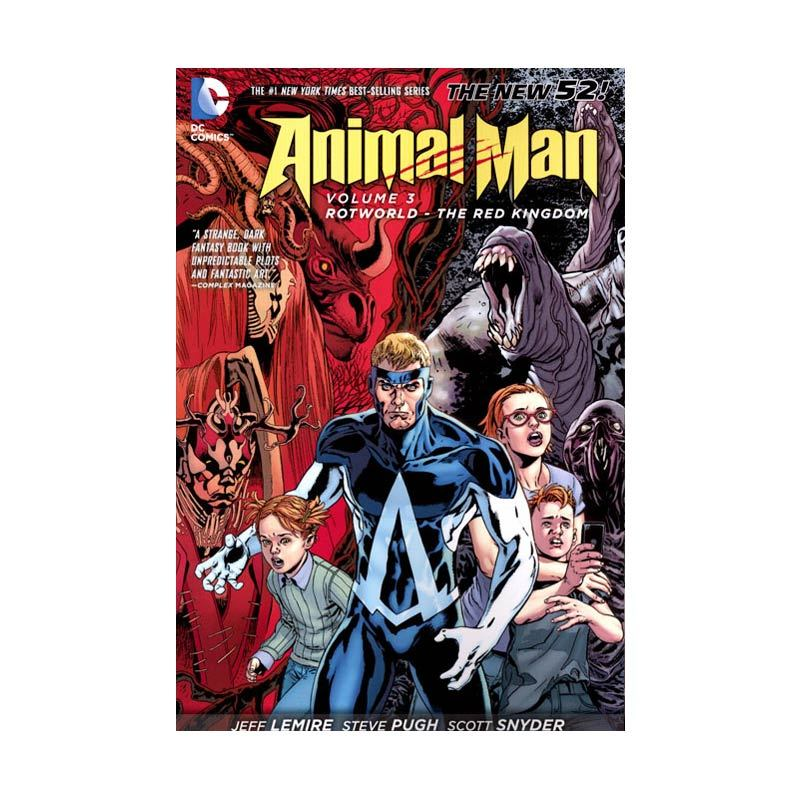 DC Comics Animal Man Vol 03 Rotworld - The Red Kingdom TP Buku Komik