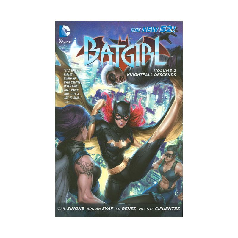 DC Comics Batgirl Knightfall Descends Vol 02 HC Buku Komik
