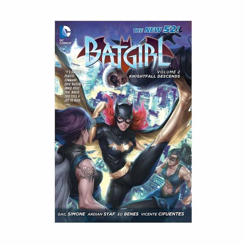DC Comics Batgirl Knightfall Descends Vol 02 TP Buku Komik