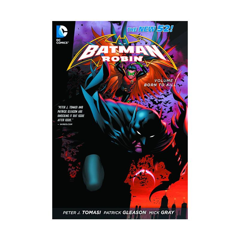 DC Comics Batman and Robin Born to Kill Vol 01 TP Buku Komik
