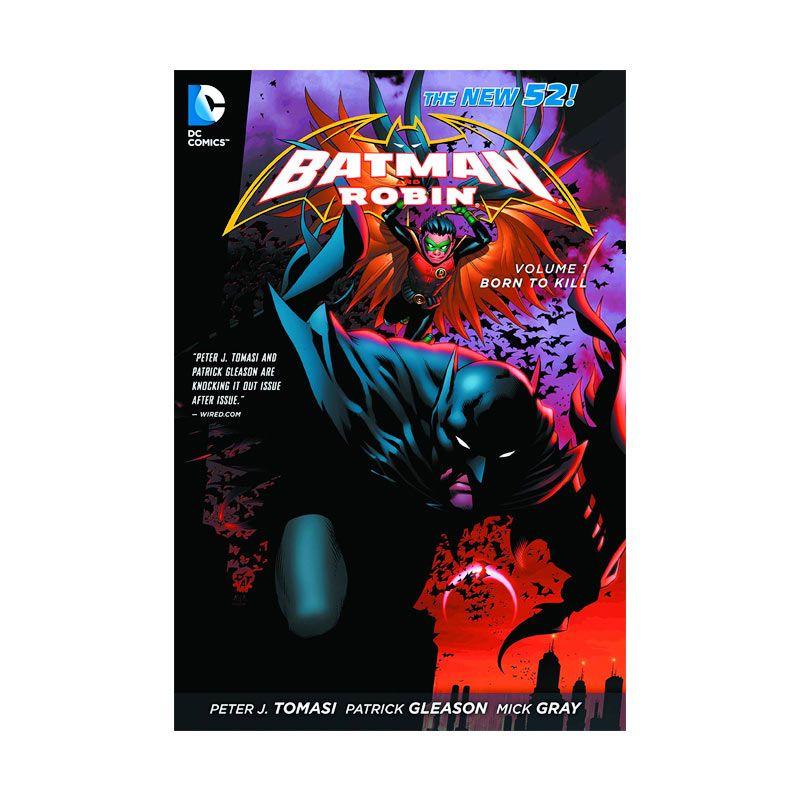 DC Comics Batman and Robin Born to Kill Vol 01 TP Buku Komik