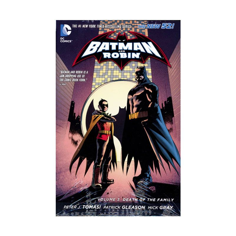DC Comics Batman and Robin Death of The Family Vol 03 HC Buku Komik