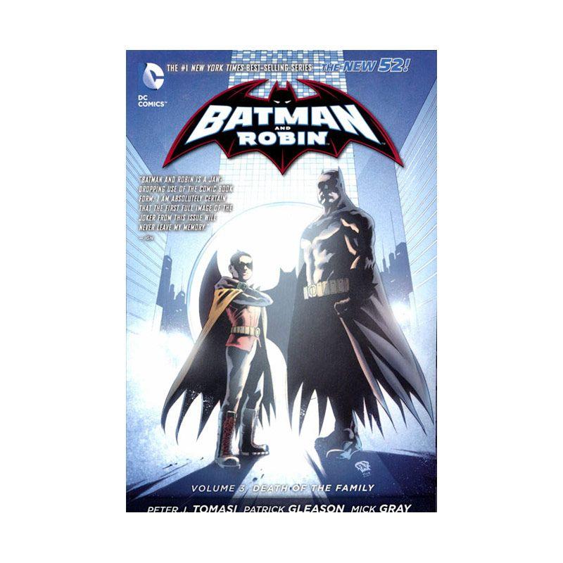 DC Comics Batman and Robin Death of The Family Vol 03 TP Buku Komik