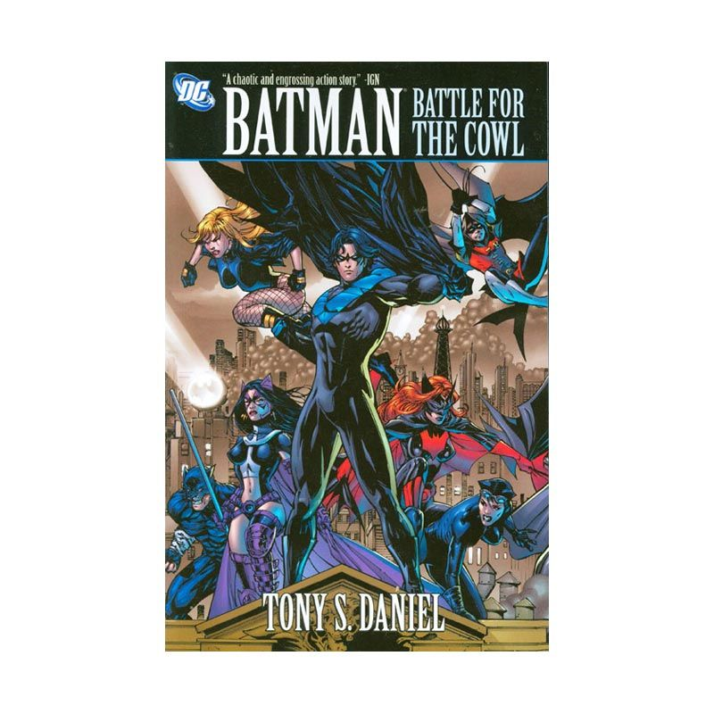 DC Comics Batman Battle For The Cowl TP Buku Komik