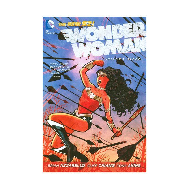 DC Comics Wonder Woman Vol 01 Blood HC Buku Komik